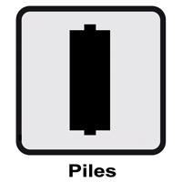 Sur pile(s)